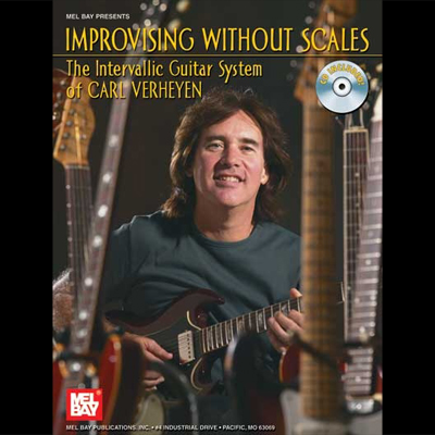 Improvising without Scales TAB Music Book with Audio Intervallic Guitar System